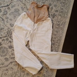 Size M Jessica Simpson cropped maternity jeans